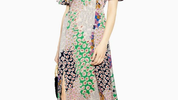 vestido primaveral